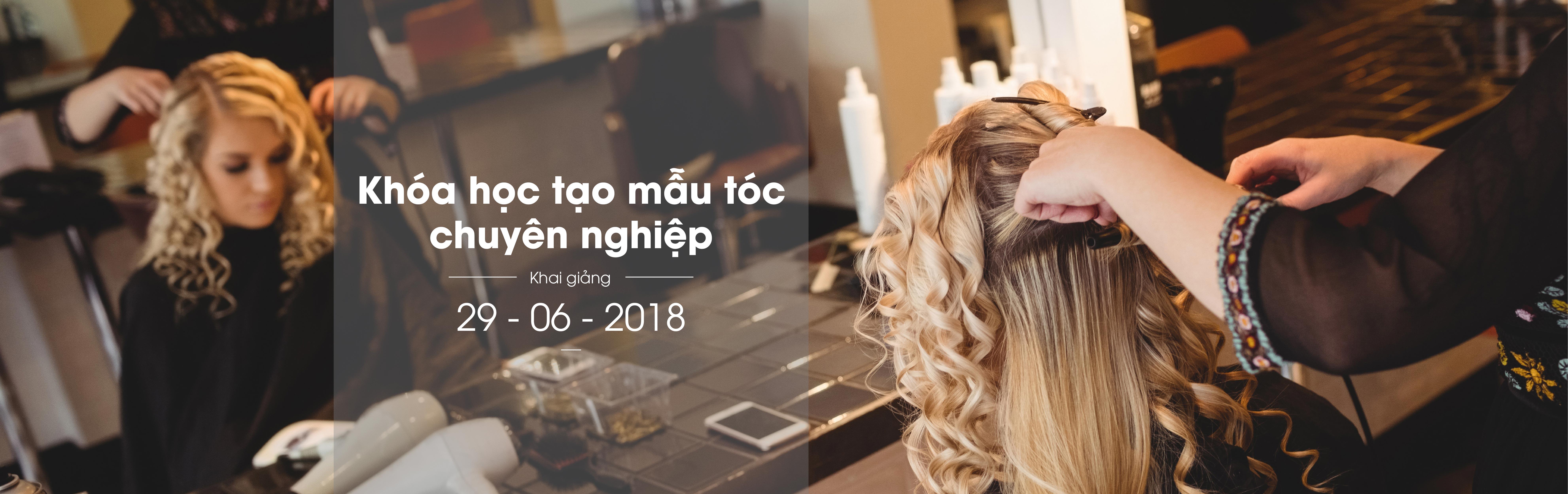 Tuyển sinh khóa học tạo mẫu tóc chuyên nghiệp