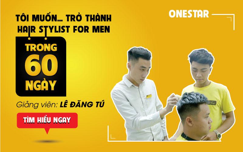 Khoá học cắt tóc nam chuyên nghiệp