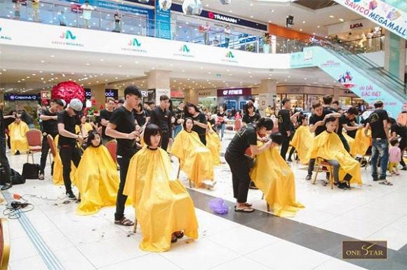 Học cắt tóc ở Hoà Bình 4
