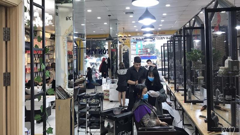 Học cắt tóc ở Lào Cai 1