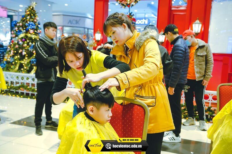 Chương trình cắt tóc miễn phí OneStar 3