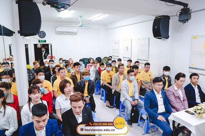 Khai giảng Học viện tóc Quốc tế OneStar 2