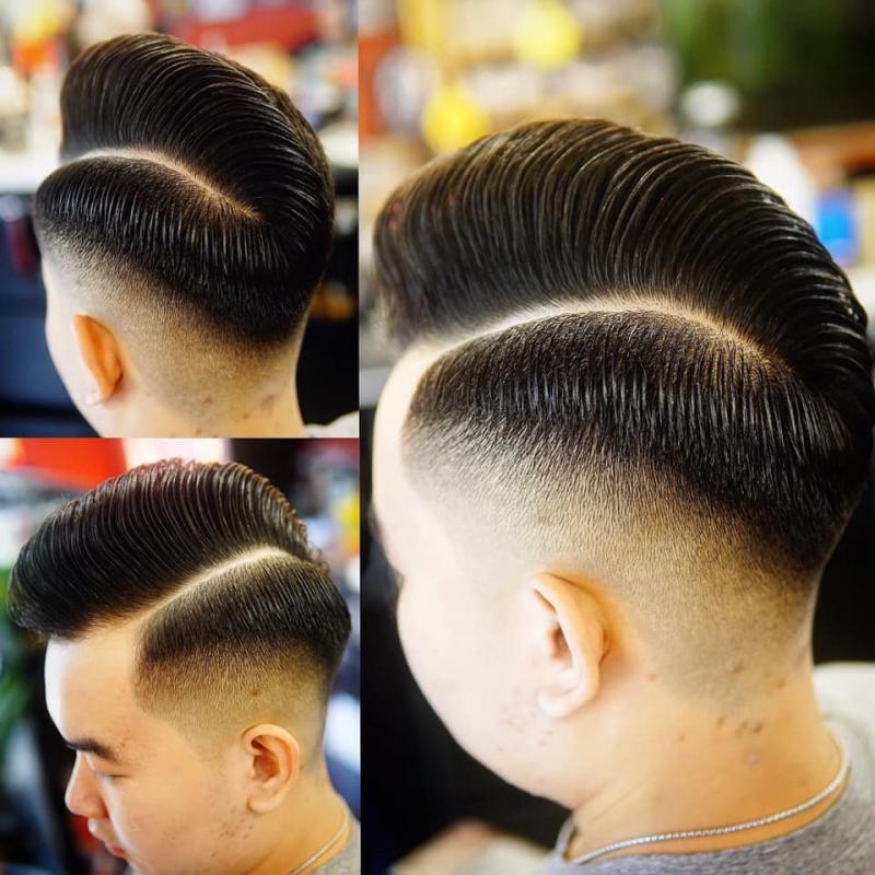 Rất nhiều người ưa chuộng các kiểu tóc barber