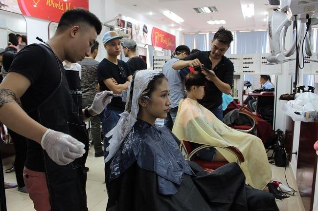 Học cắt tóc ở Ninh Bình 1