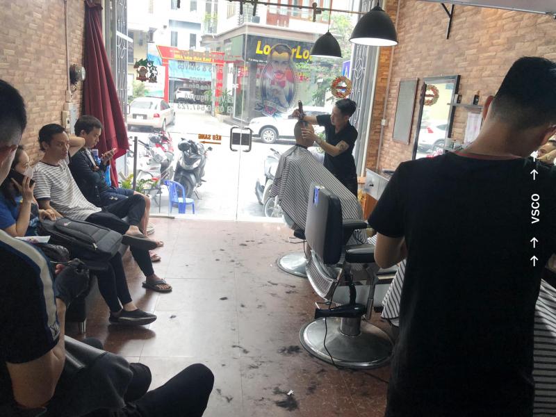 Học cắt tóc ở Quảng Ninh 2