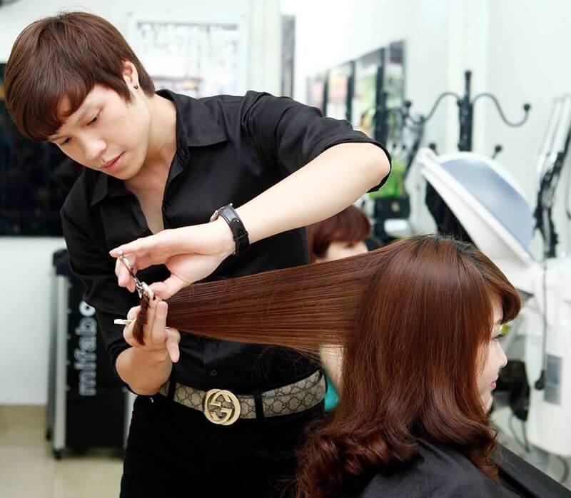 Học cắt tóc ở Thái Nguyên 1