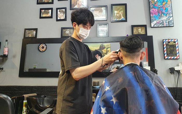 Học cắt tóc ở Cao Bằng 2